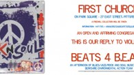 Event poster. Beats for BEAT.