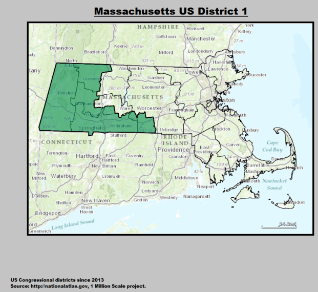 Find Your Western Massachusetts Legislator - Massachusetts us house of representatives district map
