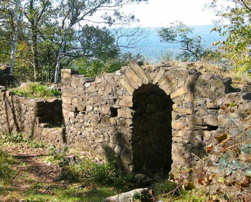 The Ruins On Mt Tom A Hike Into History Berkshire