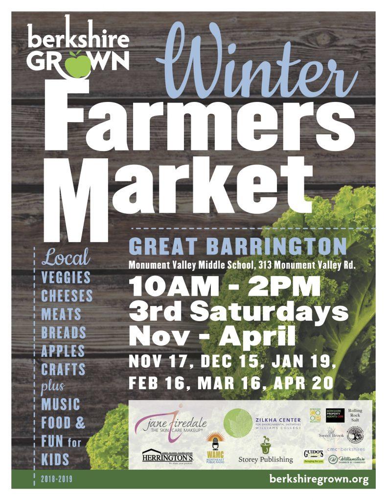 Berkshire Grown Holiday Farmers Market Berkshire