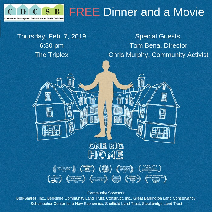 Dinner A Movie Free Film Screening Berkshire Environmental